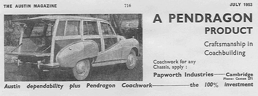 A70 Hereford Countryman (Austin Magazine)